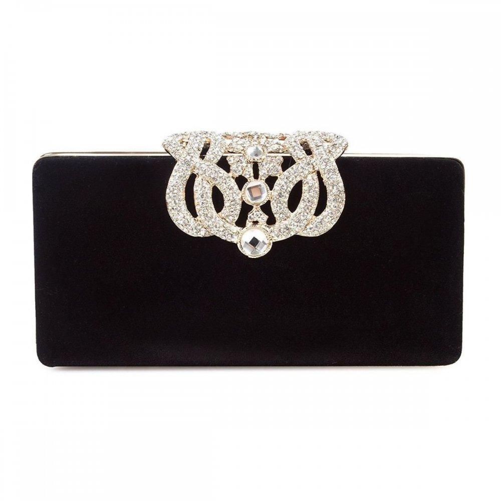 Bolso cartera de mujer negro