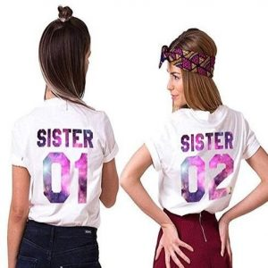 Camisetas de hermanas