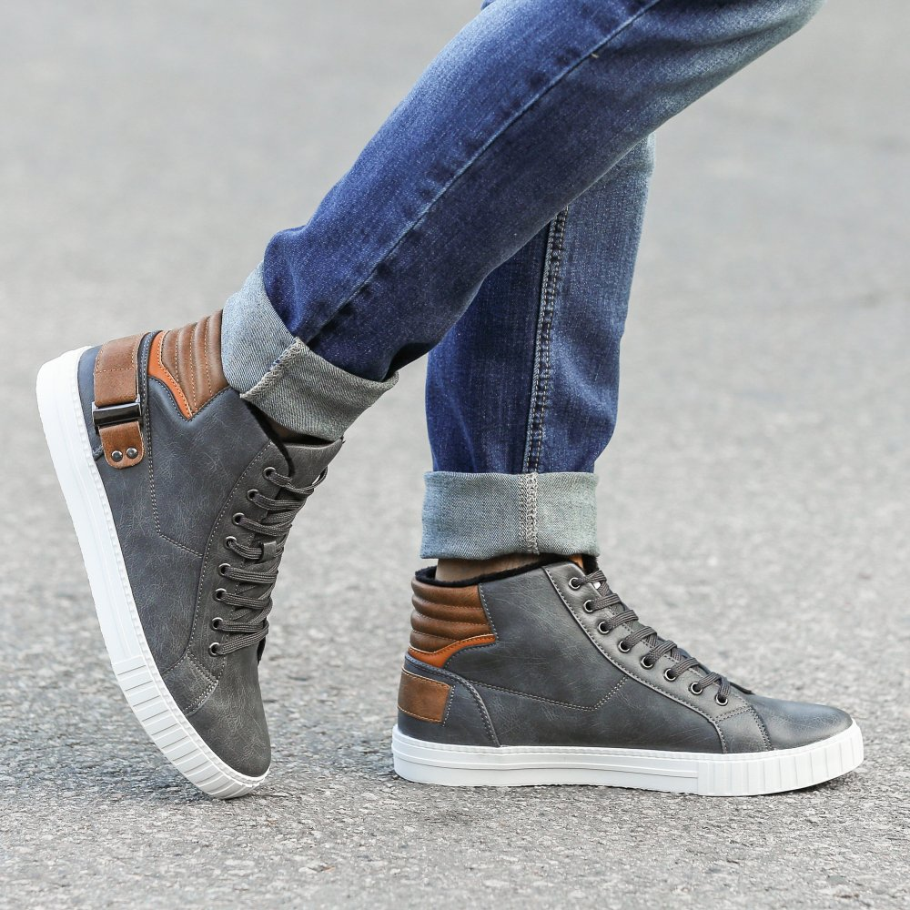 Cómo combinar unas zapatillas altas
