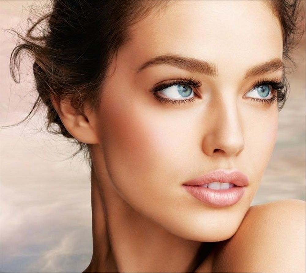 Trucos de maquillaje para caras ovaladas