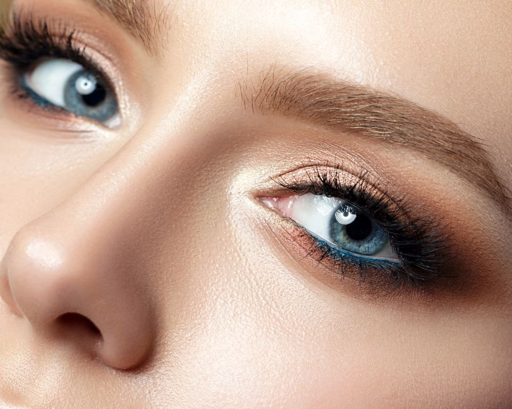 Maquillaje perfecto ojos azules