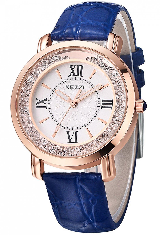 Reloj clásico azul