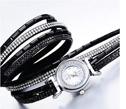 Reloj pulsera con piedras