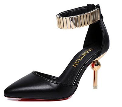 Zapato de tacón moderno