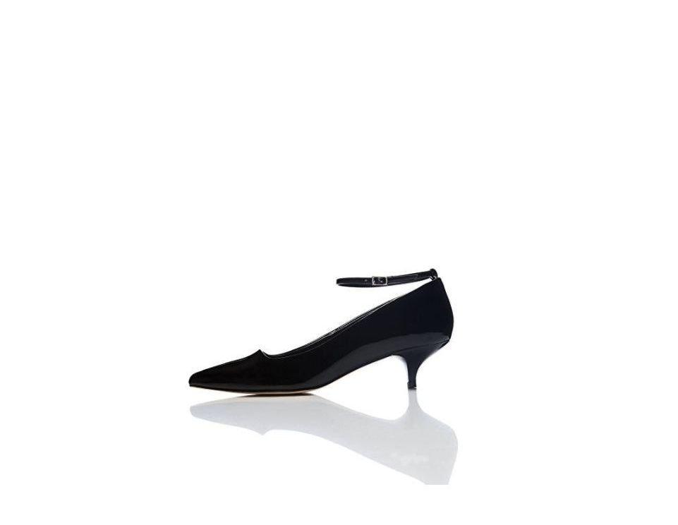 Zapatos de charol negros