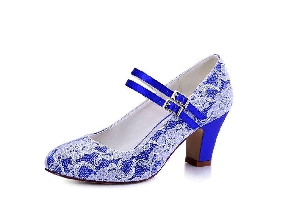 Zapatos de mujer azul