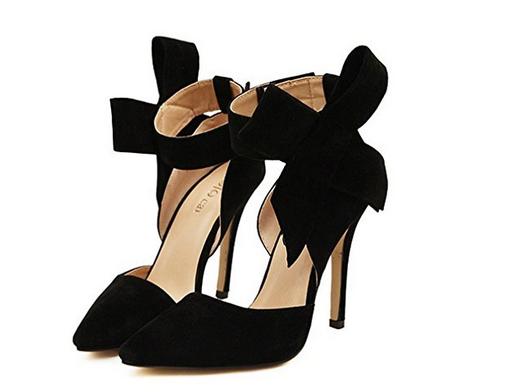 Zapatos de mujer con lazo